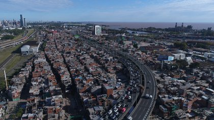 Los umbrales de pobreza se concentran en villas y barrios precarios en los grandes aglomerados urbanos