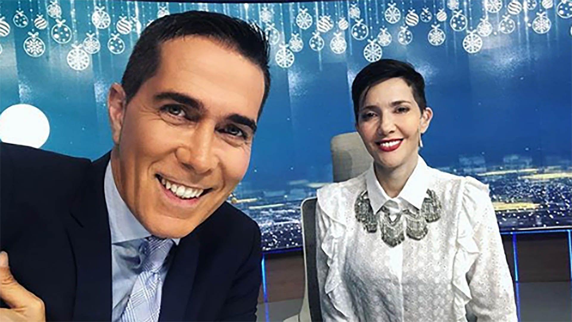 Rodolfo Barili y Cristina Pérez