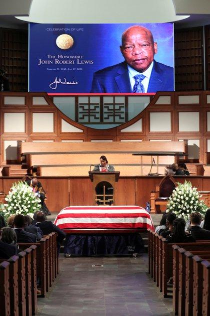 John Lewis es un icono de los derechos civiles en EEUU (Alyssa Pointer/Pool via REUTERS)