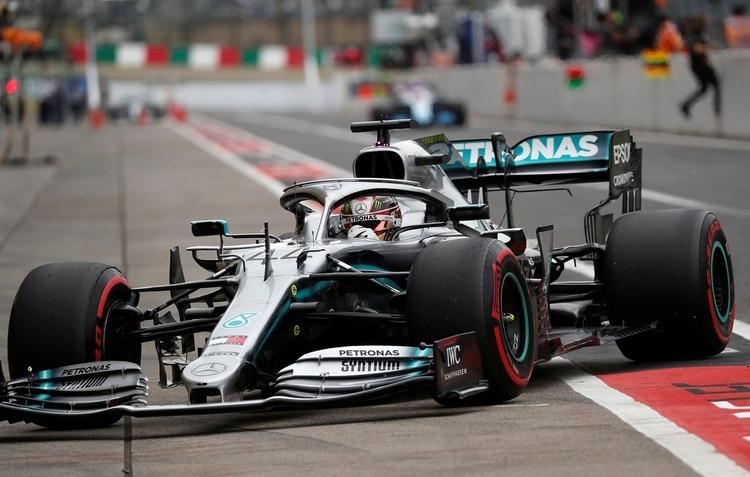 El británico Lewis Hamilton es el líder del campeonato de pilotos (REUTERS/Soe Zeya Tun)