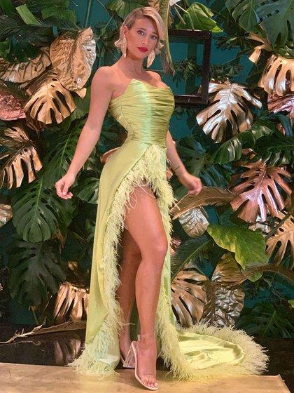 El vestido que uso Sol Pérez en la entrega de los Martín Fierro de Cable (Foto: Instagram)