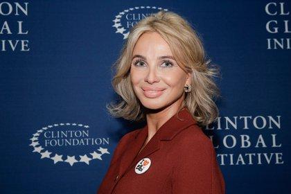 Corinna Larsen, ex amante del rey Juan Carlos (AFP)