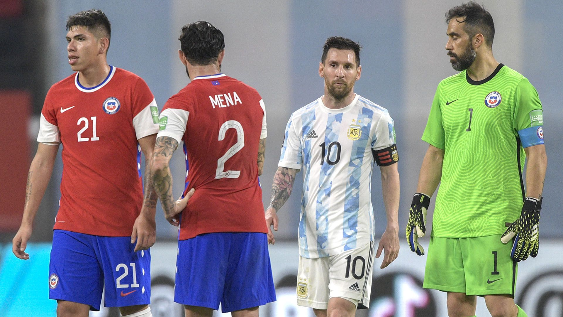 empate argentina chile eliminatorias