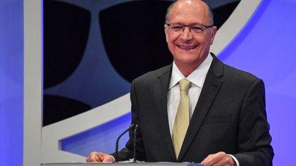 Geraldo Alckmin el fallido candidato presidencial del PSDB apoyado por el Centrão en 2018 (AFP)