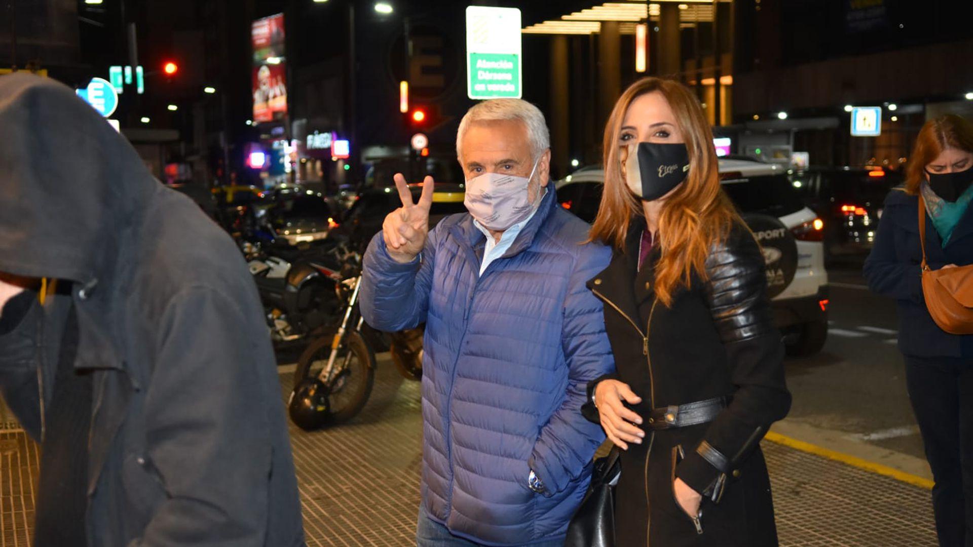 Victoria Tolosa Paz y Pepe Albistur veda electoral