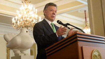 27/06/2018 El presidente de Colombia, Juan Manuel Santos POLITICA SUDAMÉRICA COLOMBIA INTERNACIONAL PRESIDENCIA DE COLOMBIA