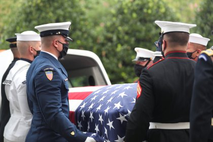 Los restos de Lewis serán enterrados en Atlanta (Alyssa Pointer/Pool via REUTERS)