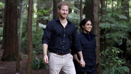 Harry y Meghan están invitados al casamiento del hermanastro de Meghan (AP)