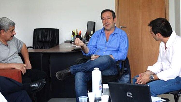 Miguel Saredi, dirigente de La Matanza