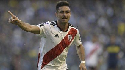 Gonzalo Martínez se sumará al Atlanta United de Estados Unidos (AFP)
