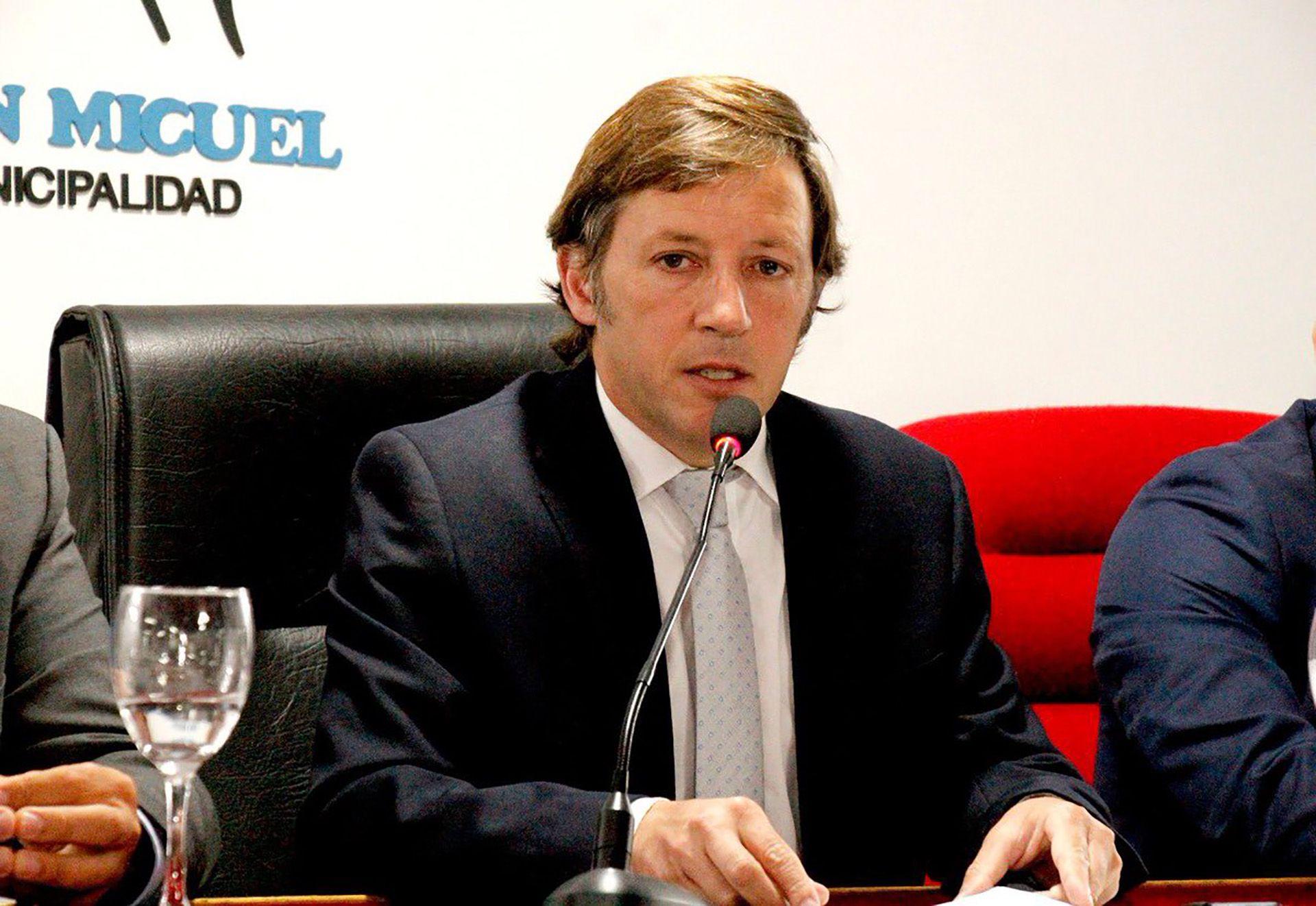 Jaime Mendez, intendente de San Miguel