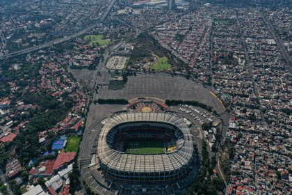 América informó que el Estadio Azteca permanecerá cerrado al público en los cuartos de final (Foto: Galo Cañas/ Cuartoscuro)