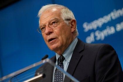 Josep Borrell, alto representante de la Unión Europea para la Política Exterior (Virginia Mayo/Pool via REUTERS)