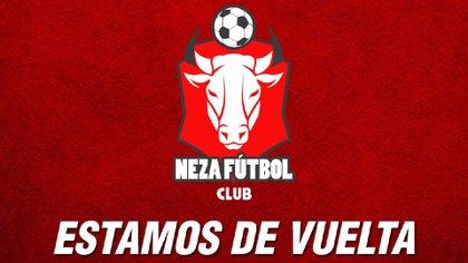 Fue el 15 de mayo que se anunció que Neza Fútbol Club se integraba a la Liga de Balompié Mexicano (Foto: Twitter@NezaFutbol)