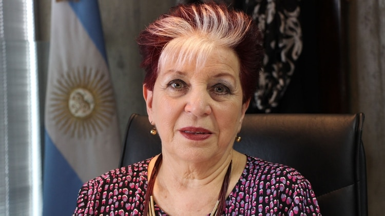 Elsa Barber, directora de la Biblioteca Nacional (Thomas Khazki)