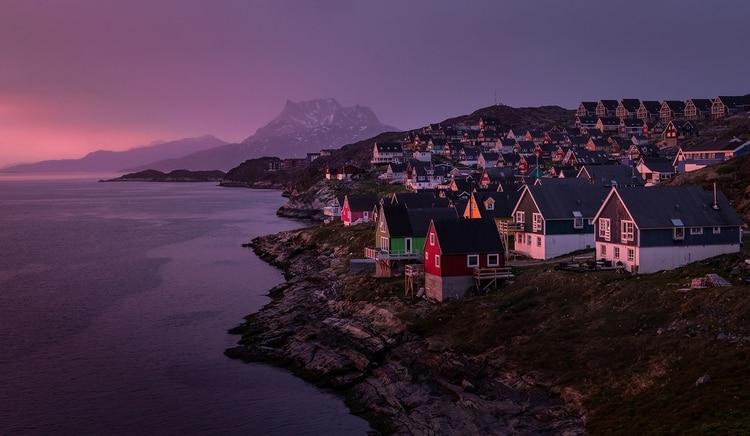 Nuuk es la capital de Groenlandia (Shutterstock)
