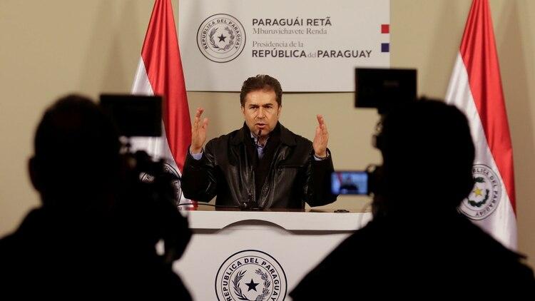 El ex canciller de Paraguay Luis Alberto Castiglioni (Reuters)
