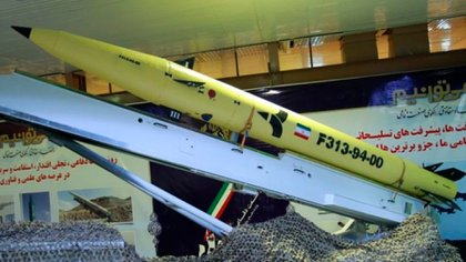 El aluminio es un elemento importante en la construcción de misiles balísticos. En la foto, un Fateh 313 iraní