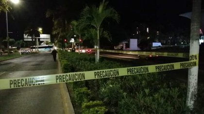On December 18, the tourist center of Puerto Vallarta became the playground of the CJNG (Photo: ESPECIAL / CUARTOSCURO)
