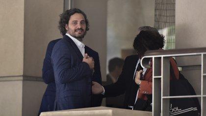 Santiago Cafiero (Adrián Escandar)