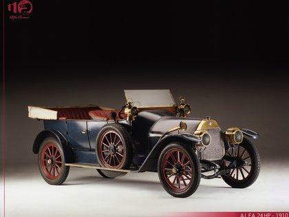 A.L.F.A. 24 HP, entre 1910 y 1913 .