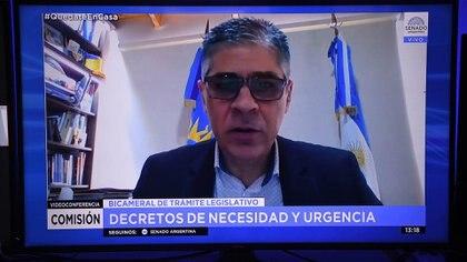 El ex vicegobernador de Santa Cruz y actual legislador, Pablo González (Charly Diaz Azcue / ComunicaciónSenado)