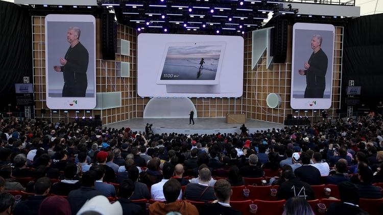 Google I/O es el evento anual para desarrolladores que hace el gigante informático (AFP)