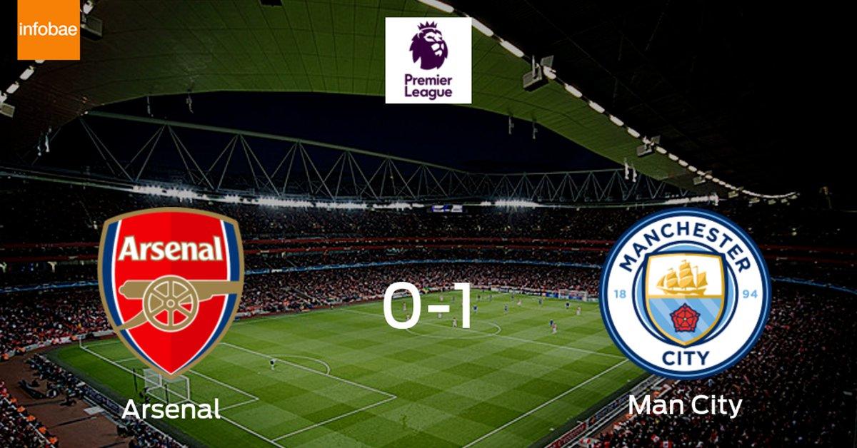 Manchester City logra una ajustada victoria ante Arsenal (1-0) - Infobae