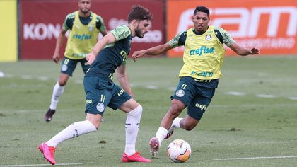 Palmeiras ya está en la Argentina para enfrentar el martes a River por las semifinales de la Copa Libertadores (Twitter: @Palmeiras)