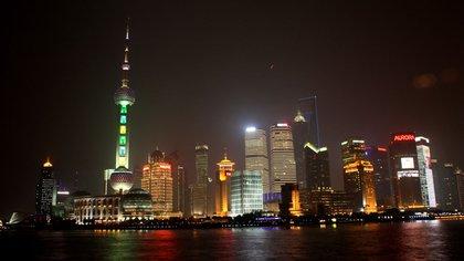 Los rascacielos de Shanghai, postal de una China muy distinta