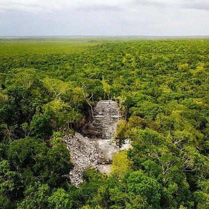 El complejo requirió una gran población de trabajadores: sólo La Danta, estimó el arqueólogo, demandó 15 millones de días-hombre de trabajo.