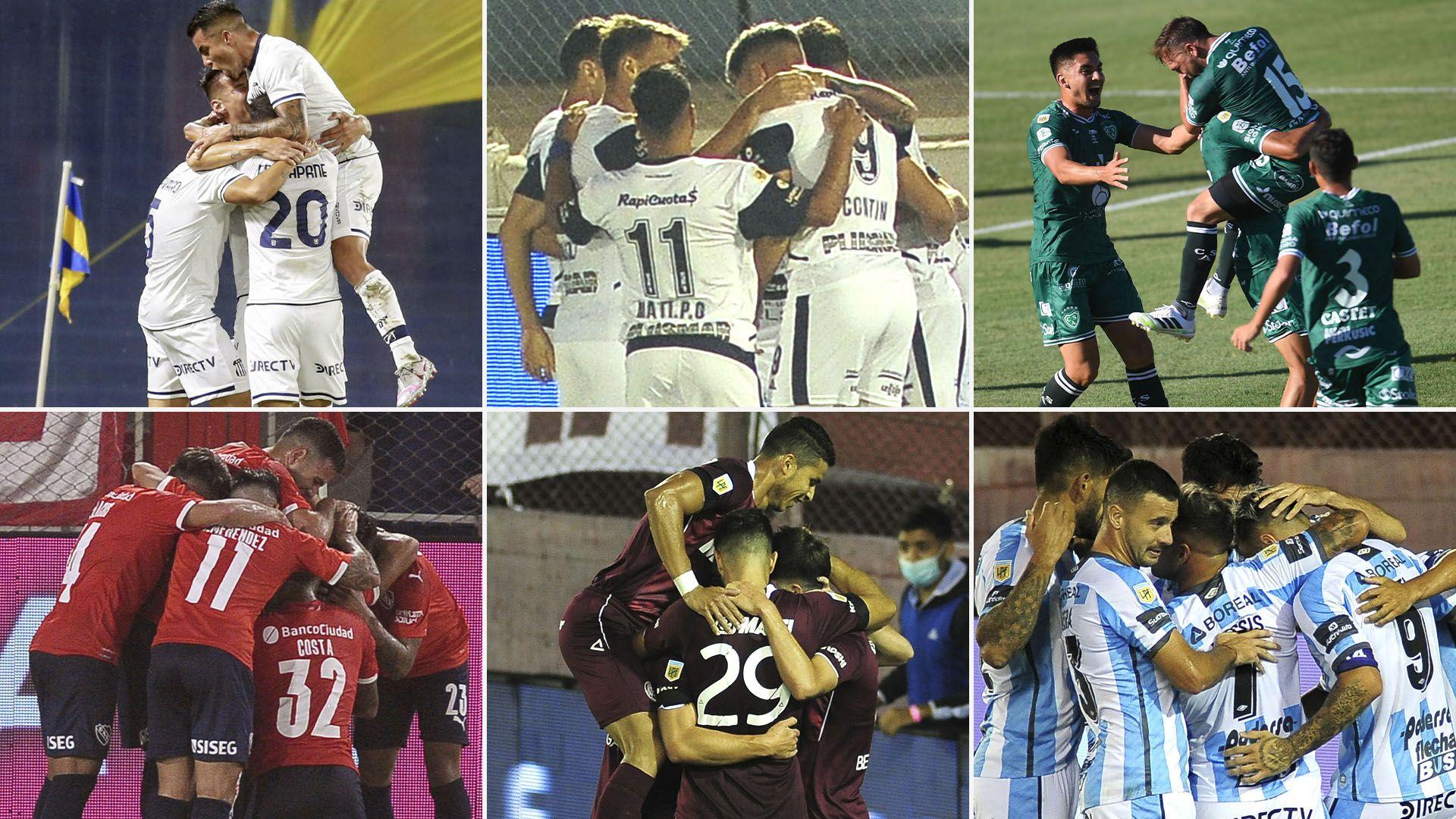 previas sabado Talleres Independiente Gimnasia Lanus Sarmiento Atletico Tucuman