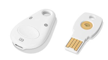 Titan, la llave de seguridad que presentó Google para combatir los ataques de phishing.