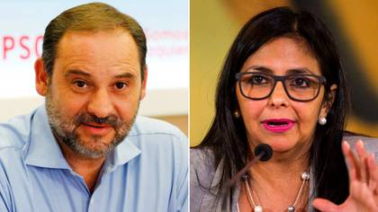 El encuentro entre Delcy Rodríguez y José Luis Ábalos provocó una fuerte polémica internacional