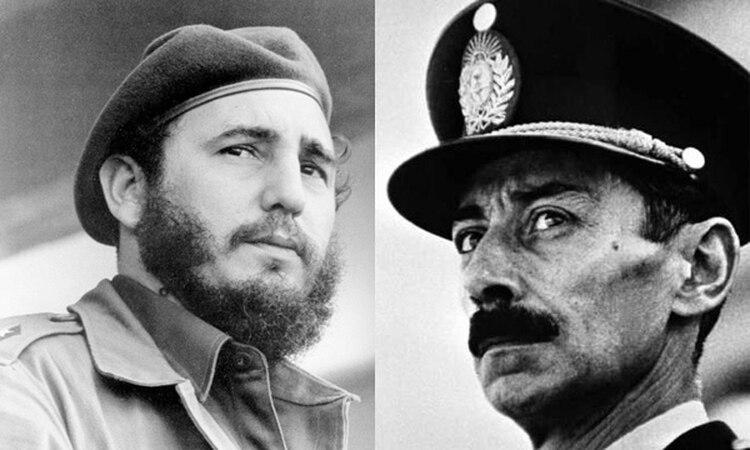 Los regímenes de Fidel Castro y Jorge Rafael Videla se defendían mutuamente en la ONU de las denuncias por violaciones a los derechos humanos