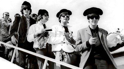 Los Beatles en una gira por España (EFE)