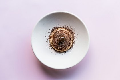 Cheesecake de dulce de leche plantbased