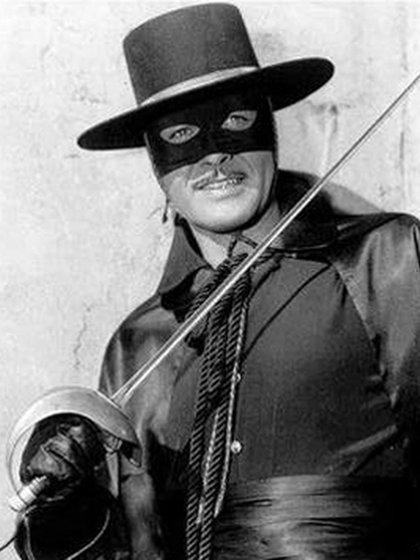 """Guy Willliams como """"El Zorro"""""""