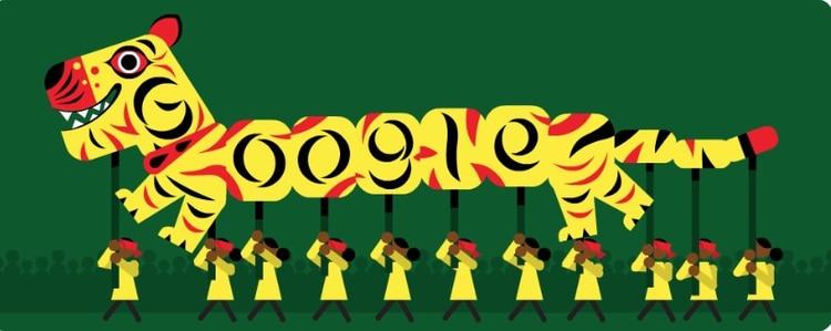 En este 14 de abril de 2019, Google recuerda con este Doodle que en Bangladesh se preparan para la entrada del nuevo año, pero también creó otros diseños para celebrar las elecciones en Finlandia y la conmemoración de los reyes Hung King (Foto: Google)