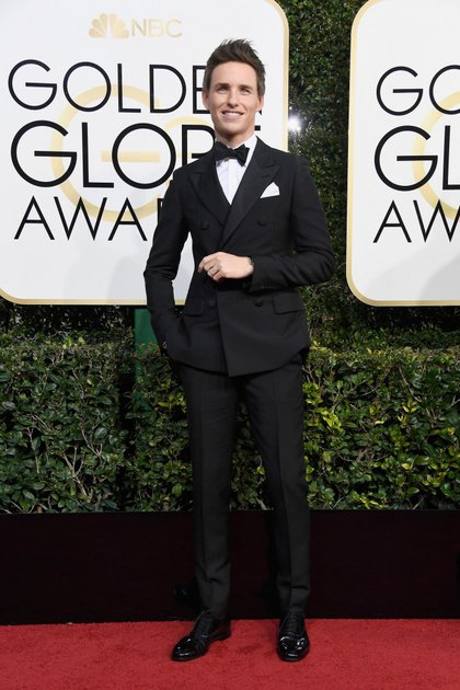 BEVERLY HILLS, CA – JANUARY 08: Actor Eddie Redmayne attends the 74th Annual Golden Globe Awards at The Beverly Hilton Hotel on January 8, 2017 in Beverly Hills, California. (Photo by Frazer Harrison/Getty Images)