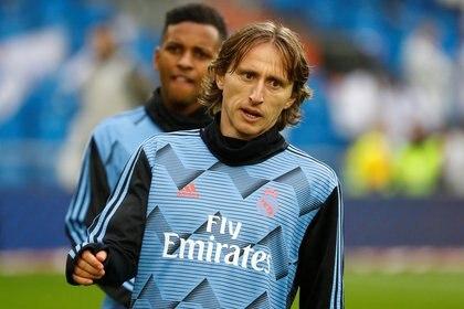 Luka Modric habló en la previa del encuentro contra Portugal por la Liga de las Naciones - REUTERS/Juan Medina