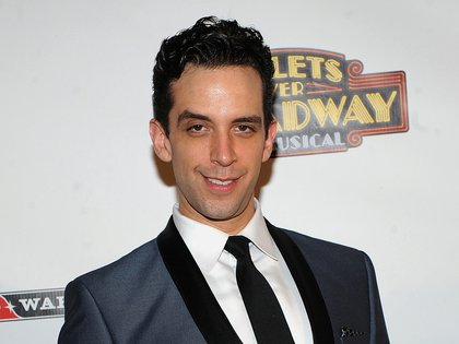 El actor de Broadway Nick Cordero. Foto tomada el 10 de abril de 2014 en Nueva York (Brad Barket/ Invision/ AP, File)