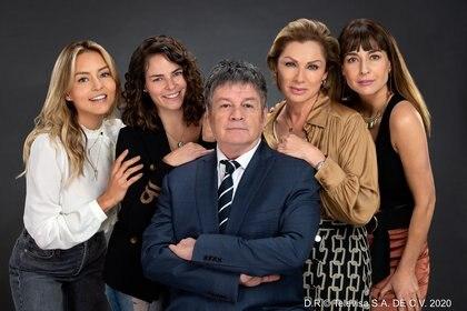 """""""Imperio de mentiras"""" llegó a su fin este domingo 17 (Foto: Televisa Prensa)"""