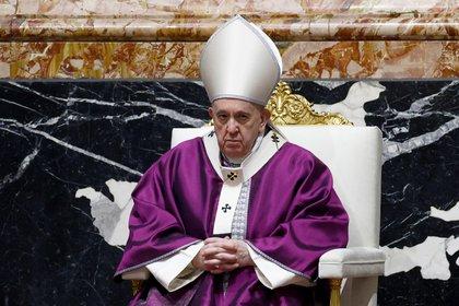 En la imagen, el papa Francisco. EFE/Guglielmo Mangiapane/Archivo