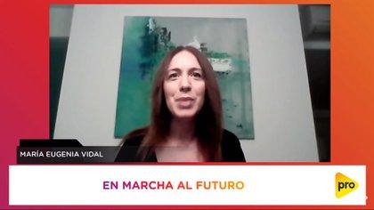 María Eugenia Vidal pidió darle respuestas a la gente