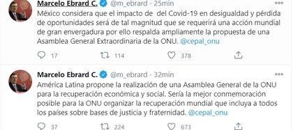 (Captura: Twitter @m_ebrard)
