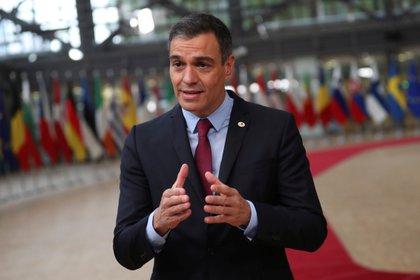 El presidente del Gobierno españolo Pedro Sánchez (Francisco Seco via REUTERS)