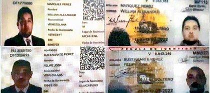 El Tiempo tuvo acceso a las tarjetas de movilidad obtenidas por los espías venezolanos