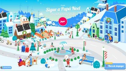 Google ofrece una amplia variedad de entretenimientos para que los niños aguarden la llegada de Papá Noel