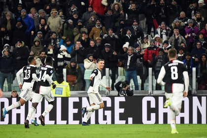 El delantero marcó un doblete para la Juventus - REUTERS/Massimo Pinca